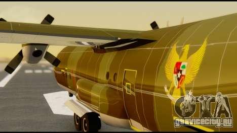 C-130 Hercules Indonesia Air Force для GTA San Andreas вид изнутри