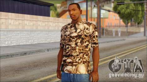 Skulls Shirt для GTA San Andreas