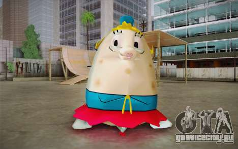Mrs. Puff from Sponge Bob для GTA San Andreas