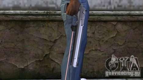 Desert Eagle с лазерным прицелом для GTA San Andreas третий скриншот