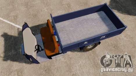 Сельскохозяйственный трицикл для GTA 4 вид справа
