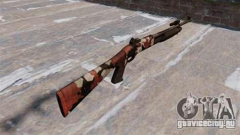 Ружьё Benelli M3 Super 90 bloodshot для GTA 4 второй скриншот