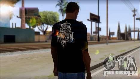 Tribal DOG Town T-Shirt Black для GTA San Andreas