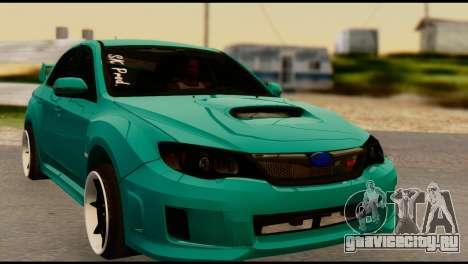 Subaru Impreza Stance Works для GTA San Andreas