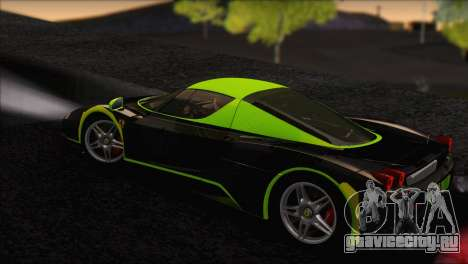 Ferrari Enzo 2002 для GTA San Andreas двигатель