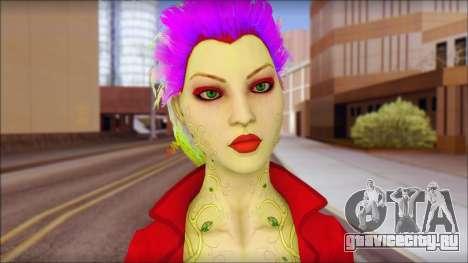 Poison Ivy PED для GTA San Andreas третий скриншот