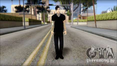 Billy from Good Charlotte для GTA San Andreas