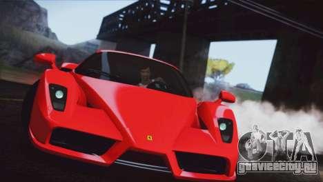 Ferrari Enzo 2002 для GTA San Andreas вид справа