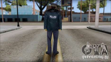 Deutscher Polizist для GTA San Andreas второй скриншот