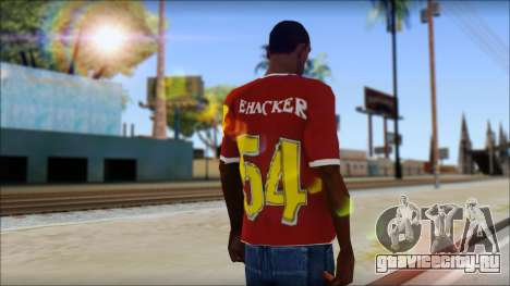 Cenation EHacker Shirt для GTA San Andreas второй скриншот