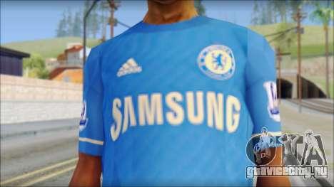 Chelsea FC 12-13 Home Jersey для GTA San Andreas третий скриншот