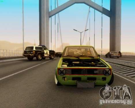 Volkswagen Golf Mk I для GTA San Andreas
