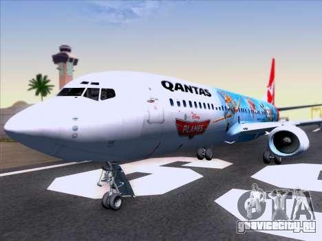 Boeing 737-800 Qantas для GTA San Andreas салон