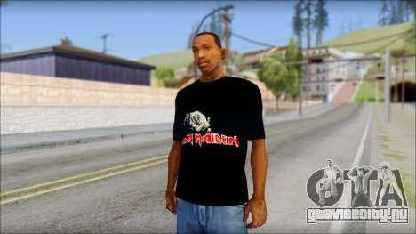 Iron Maiden T-Shirt для GTA San Andreas
