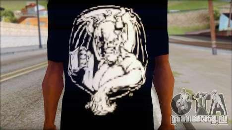 Diablo T-Shirt для GTA San Andreas третий скриншот