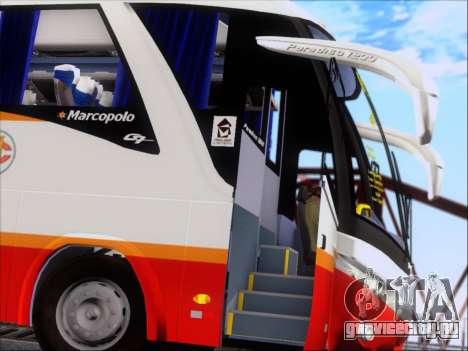 Marcopolo Paradiso 1200 Harapan Jaya для GTA San Andreas вид сбоку