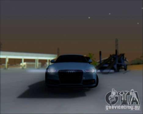 Audi A7 для GTA San Andreas вид сбоку