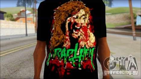 Trapheim T-Shirt Mod для GTA San Andreas третий скриншот