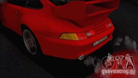 Porsche 911 GT2 (993) 1995 V1.0 EU Plate для GTA San Andreas двигатель