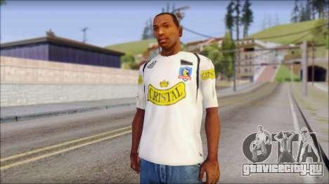 Colo Colo 09 T-Shirt для GTA San Andreas