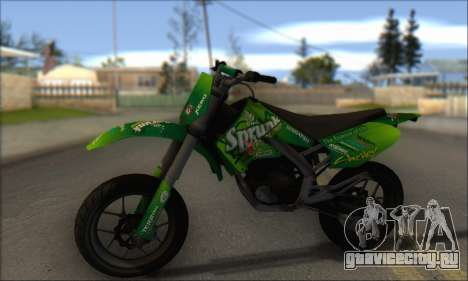 Sanchez from GTA V - Supermoto для GTA San Andreas