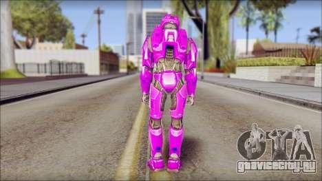 Masterchief Purple from Halo для GTA San Andreas второй скриншот