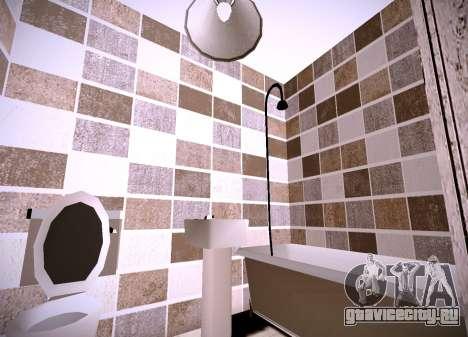 Интерьер квартиры для GTA San Andreas третий скриншот