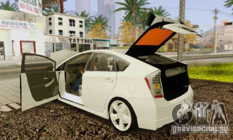 Toyota Prius Tunable для GTA San Andreas салон