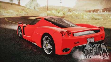 Ferrari Enzo 2002 для GTA San Andreas вид слева