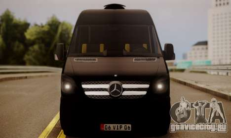 Mercedes-Benz Sprinter 315 CDi для GTA San Andreas вид сзади слева