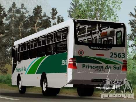 Mascarello Gran Via Mercedes-Benz OF1418 для GTA San Andreas вид снизу
