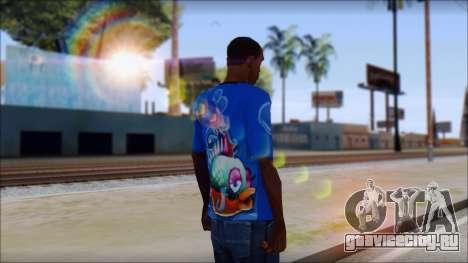Fish T-Shirt для GTA San Andreas второй скриншот