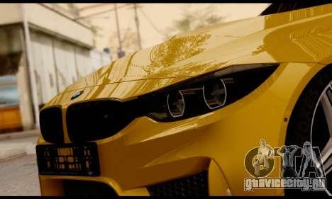 BMW M4 для GTA San Andreas вид сбоку