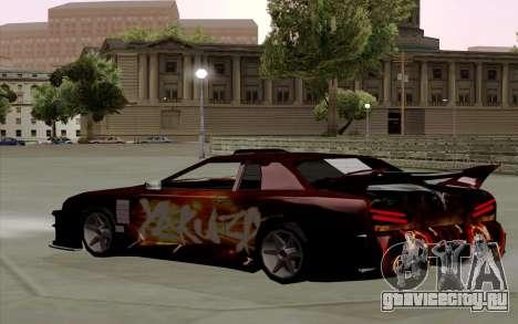 Покрасочная работа Yakuza для Elegy для GTA San Andreas вид сзади слева