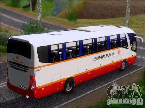Marcopolo Paradiso 1200 Harapan Jaya для GTA San Andreas двигатель