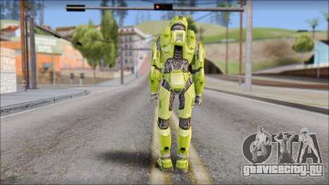 Masterchief Green from Halo для GTA San Andreas третий скриншот