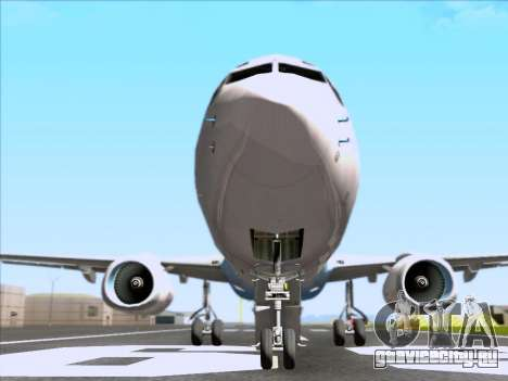 Boeing 737-800 Qantas для GTA San Andreas вид сверху