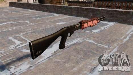 Ружьё Franchi SPAS-12 Red tiger для GTA 4 второй скриншот
