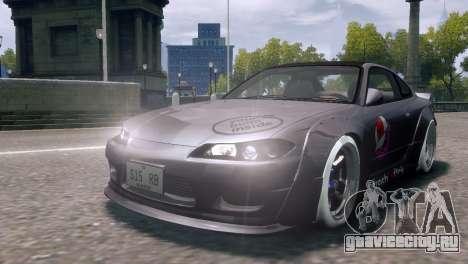 Nissan Silvia S15 Street Drift для GTA 4