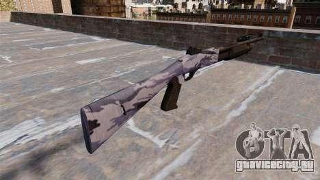 Ружьё Benelli M3 Super 90 blue tiger для GTA 4 второй скриншот