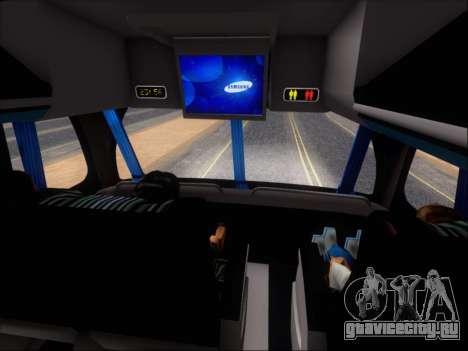 Metalsur Starbus DP 1 6x2 - La Veloz del Norte для GTA San Andreas салон