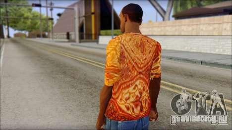 Batik Solo T-Shirt для GTA San Andreas второй скриншот