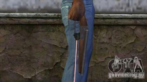 Обрез с лазерным прицелом для GTA San Andreas третий скриншот