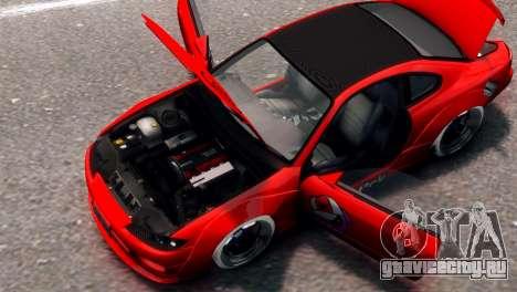 Nissan Silvia S15 Street Drift для GTA 4 вид сзади слева