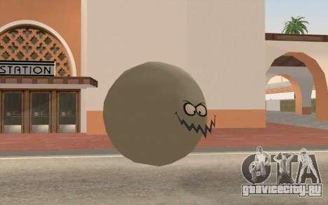 Грязный пузырик (Губка боб) для GTA San Andreas второй скриншот