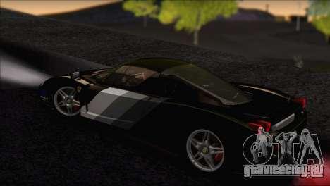 Ferrari Enzo 2002 для GTA San Andreas салон