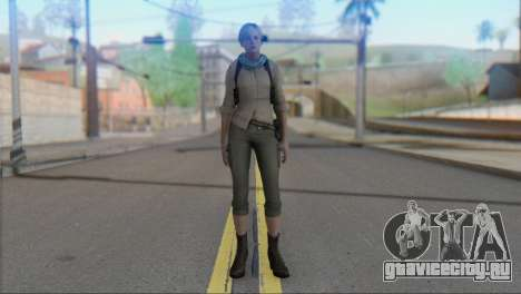 Sherry Birkin Asia from Resident Evil 6 для GTA San Andreas