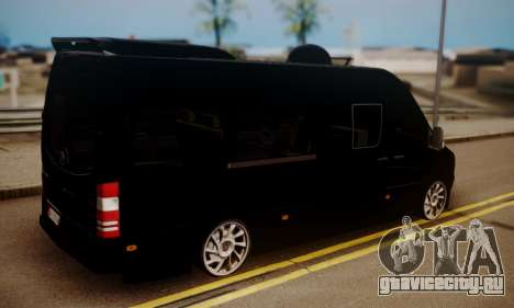Mercedes-Benz Sprinter 315 CDi для GTA San Andreas вид слева