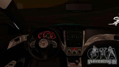 Subaru Impreza Stance Works для GTA San Andreas вид справа