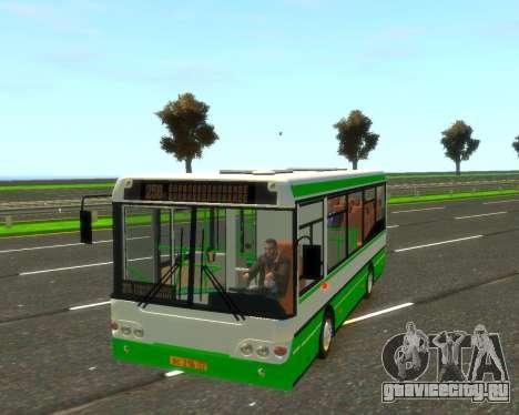 ПАЗ 3237а для GTA 4